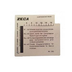 Комплект карточек к компрессографу ZECA-363
