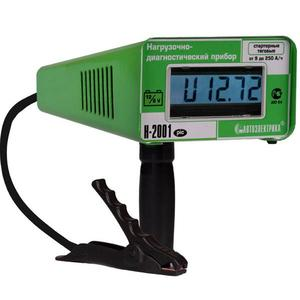 Нагрузочно-диагностический прибор для проверки состояния акб, генератора и стартера Н-2001