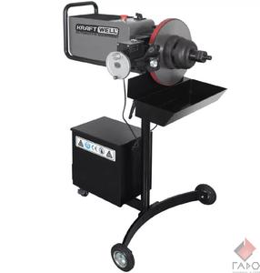 Станок для проточки тормозных дисков легковых автомобилей со снятием и без KraftWell KRW802D
