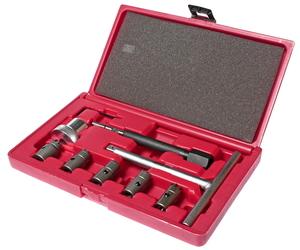Набор инструментов для притирки седел форсунок дизельного двигателя 9 предметов (кейс) JTC-4050