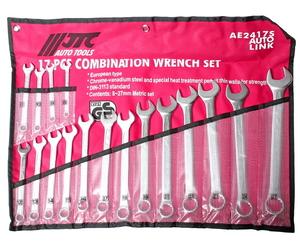 Набор ключей комбинированных 8-27мм 17 предметов в сумке JTC-AE2417S
